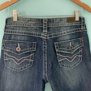 Harley Davidson Size 12 Boot Cut Stretch Jeans